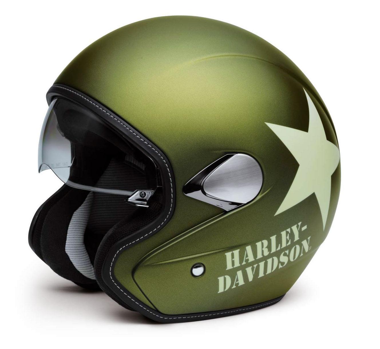 3 4 helma military retro harley davidson 98241 16em harley davidson brno. Black Bedroom Furniture Sets. Home Design Ideas