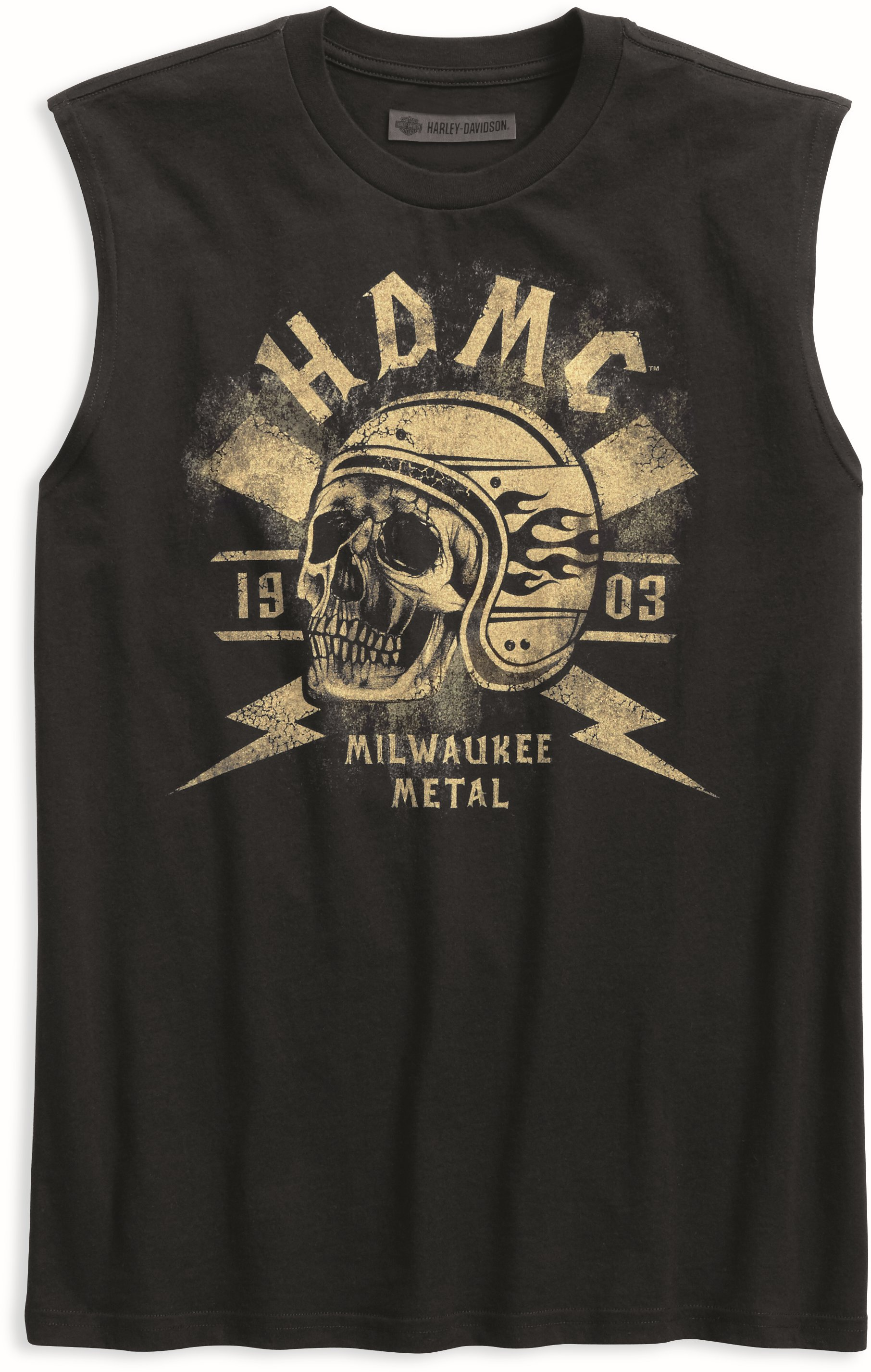 08d95c6cde0 Pánské tričko Harley-Davidson TEE GRGO SKULL W 96154-18VM