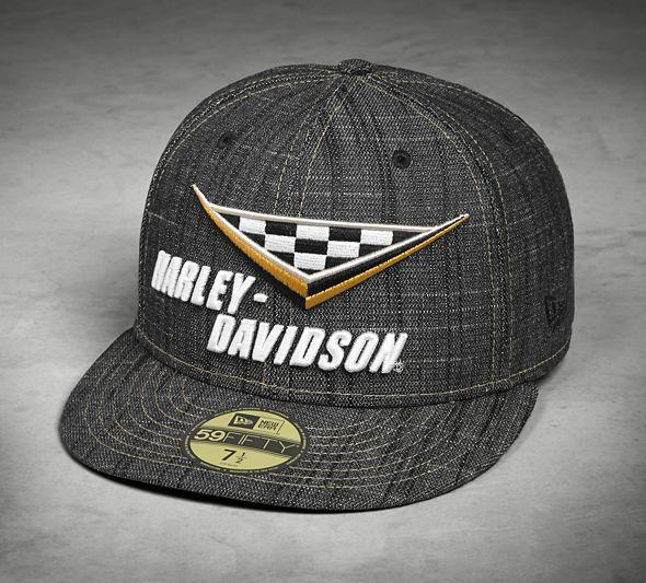 dee2076c7e7 Pánská kšiltovka Harley Davidson Men´s Race Flag 59FIFTY Cap 97664-18VM